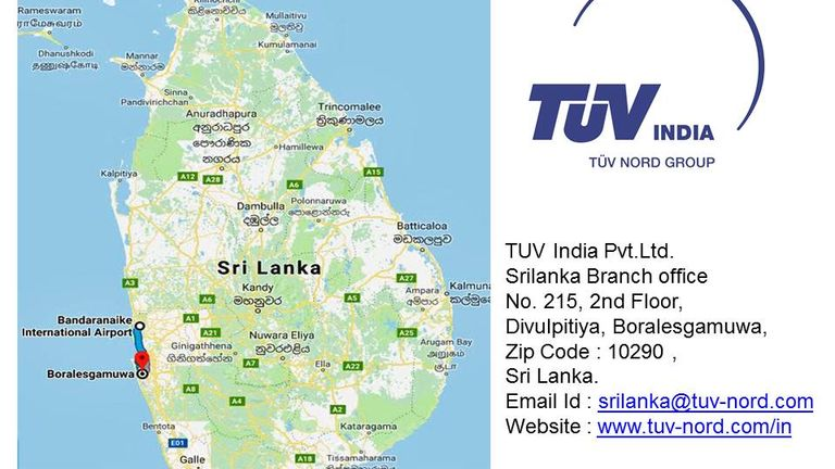 Inspection, Certification and Testing Organization: TUV India