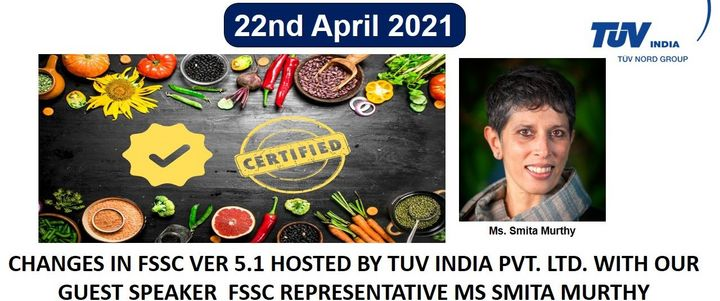 TUV India Virtual Consultant Meet for Food Safety Consultants