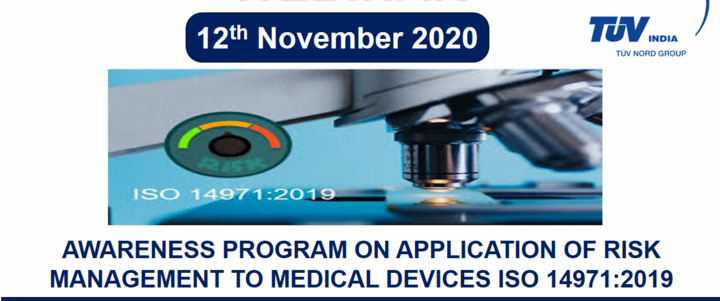 Application of Risk Management to Medical Devices as per ISO 14971:2019