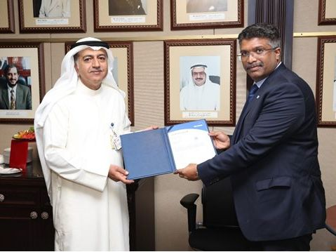 Certificate Handover to Kuwait Oil Company (KOC)